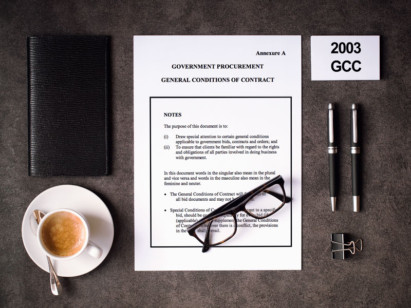 2003 General Conditions of Contract