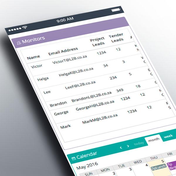 Monitors Portlet