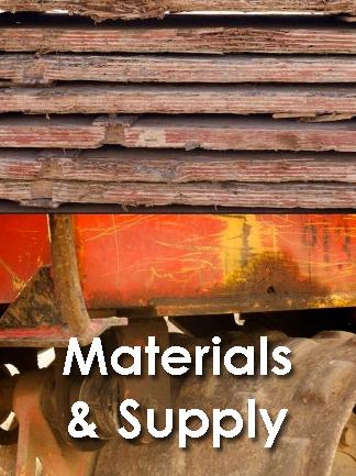 Industry: Materials & Supplies Tender
