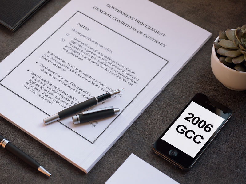 2006 Augmentation of General Conditions of Contract
