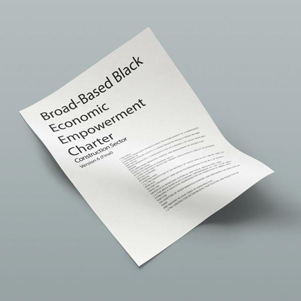 Broad-Based Black Economic Empowerment Charter