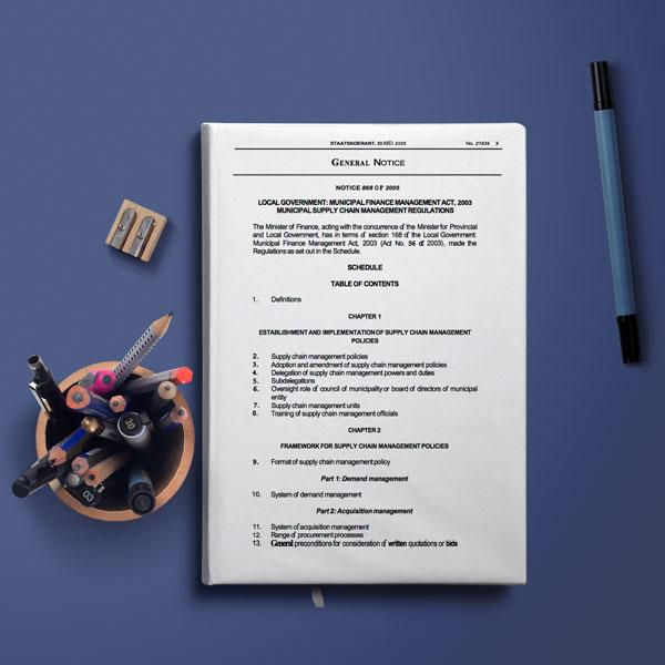 The Municipal Finance Management Act of 2003