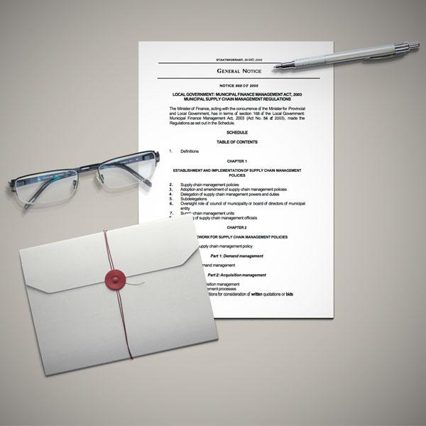 The Municipal Supply Chain Management Regulation of 2005
