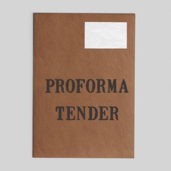 Proforma Tender