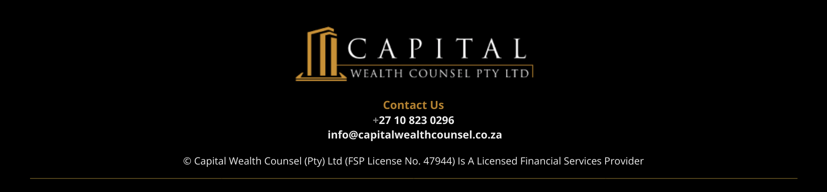 Capital Wealth Counsel