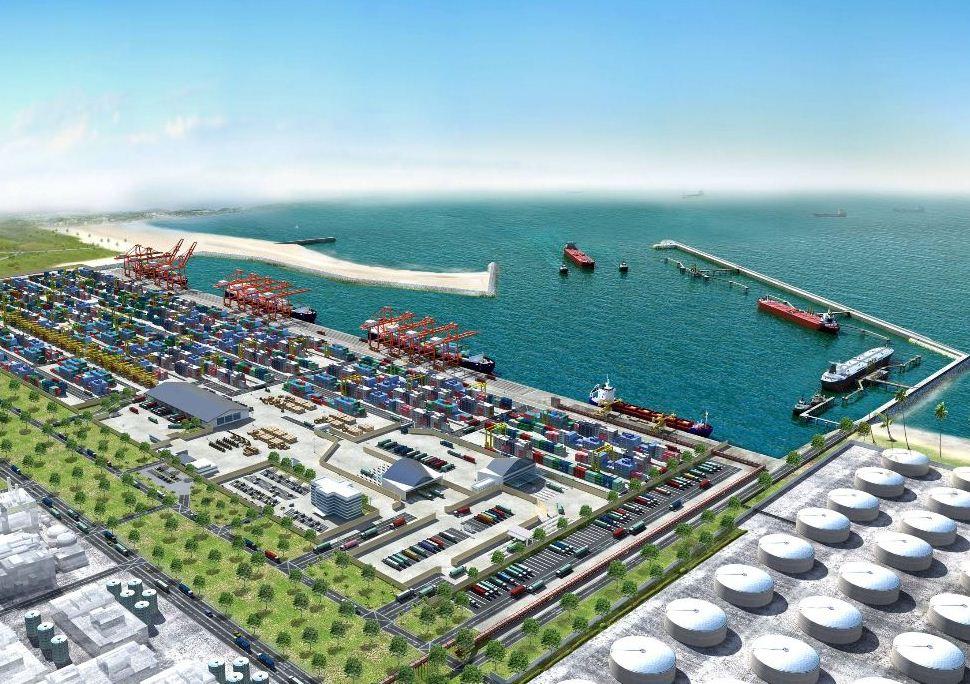 Artist's impression of Port @ Lekki Project