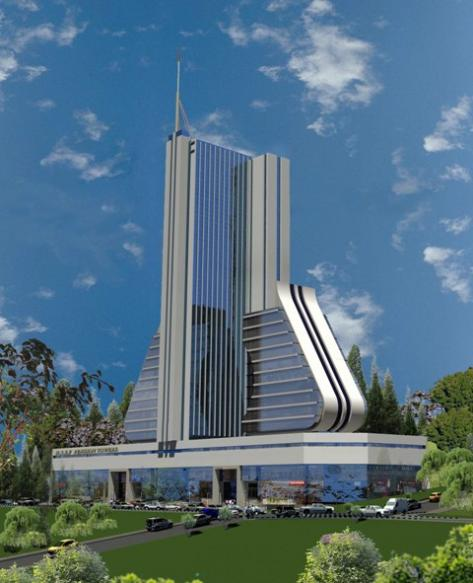 Artist's impression of the Pension Towers