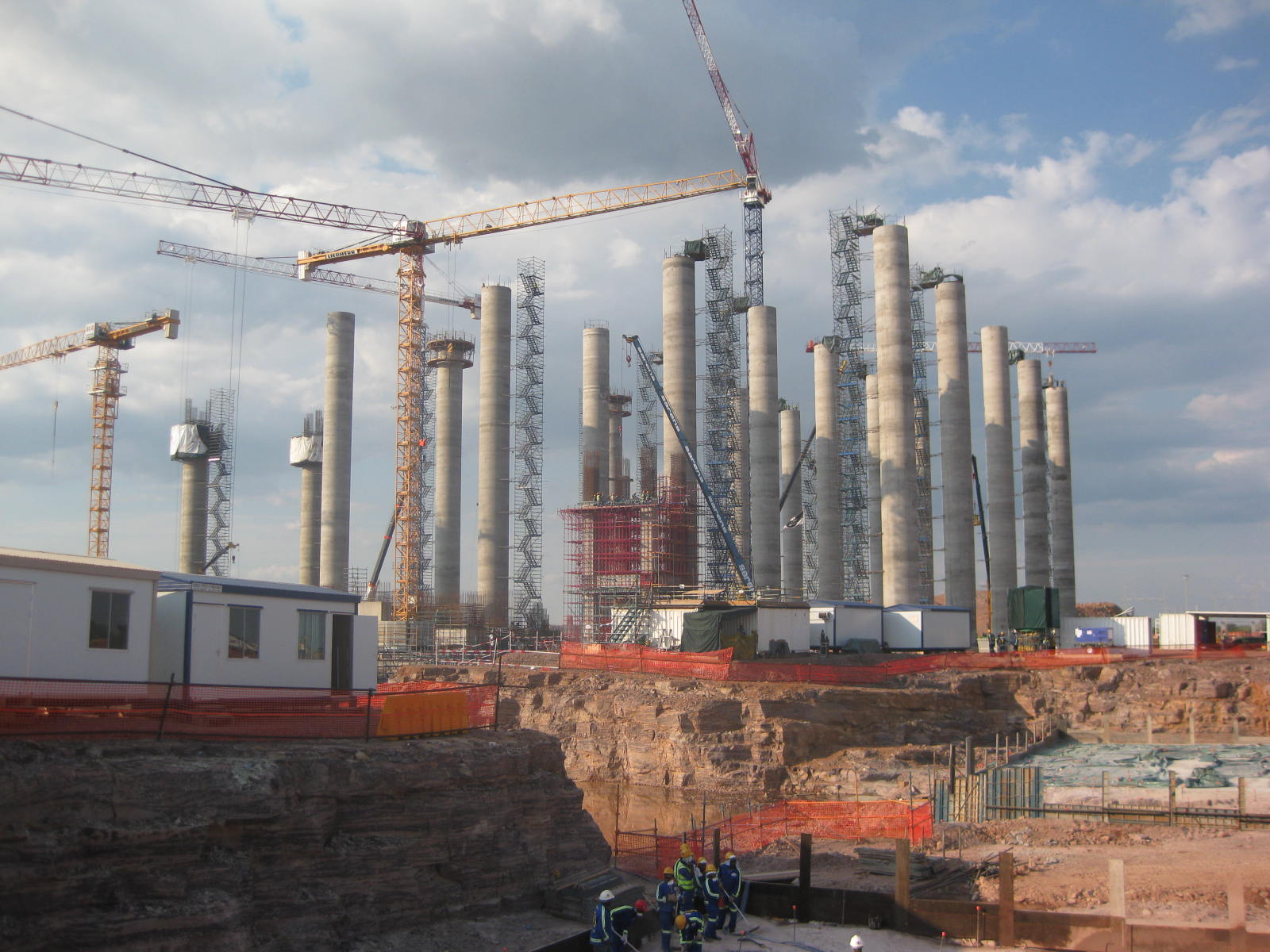 Construction at Medupi Power Station