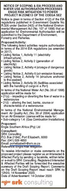 Town Planning Notice